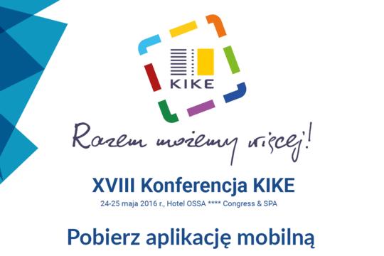 XVIII Konferencje KIKE wspiera MKonferencja
