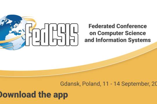 Aplikacja konferencyjna Federated Conference on Computer Science and Information Systems