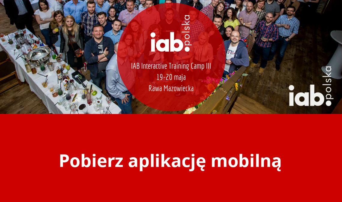 Blog - MKonferencja na IAB Interactive Training Camp 2016